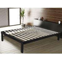 Buy cheap Sturdy Steel Frame Double Bed With Corner And Floor Protector Modern Bedroom Furniture product
