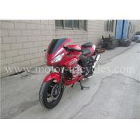 Buy 5 Speed Electric Kick Road Racing Motorcycles , Street Racing Motorbikes OEM at wholesale prices