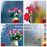Quality 3mm, 4mm, 5mm Clear Patterned Glass Tempered/Toughened Glass for Bathroom/Furniture for sale