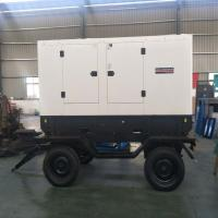 Buy cheap Three Phase Mobile Power Unit Generator , Cummins Commercial Diesel Generators from wholesalers