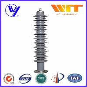 Buy cheap 500KV HV Substation Lightning Arrester for Lighting Surge Protection Self Standing from wholesalers