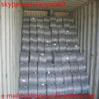 China (BWG14x14 or BWG16x16 with1.6 mm 2.1mm 2.5mm wire diameter)hot dipped barbed wire (Direct Factory) on sale
