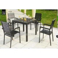 Buy cheap Outdoor / Indoor Patio Garden Furniture Sets , Garden Table And 4 Chairs product