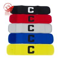 Quality Gym Wrist Support Elastic Hook And Loop Strap For Fitness Hook Loop Elastic captain arm Straps for sale