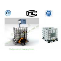 Quality Sanhe DCS-1500L High Accuracy IBC Liquid Filling Machine With Weighing Scale for sale