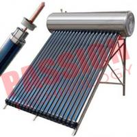China 200L Heat Pipe Evacuated Tube Solar Collectors on sale