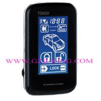 Quality New FSK 5000M wholesale Touch Screen OLED screen  two Way Car Alarm system for sale