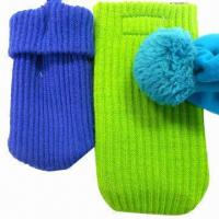 Quality Mobile phone socks/cell phone knit covers/bags for sale