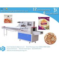 Quality Fresh shrimp pineapple pizza Hawaiian style pizza stainless steel packaging machine for sale
