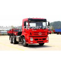Quality LHD/RHD Cummins 340HP Heavy Duty 6x4 tractor truck for Chile for sale