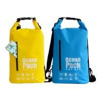 China Fishing Sailing Dry Bags Waterproof Backpack 56 X 36 Cm Multi Color Optional on sale