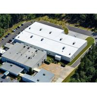 Quality Gable Frame Pre Engineered Steel Structure Warehouse With Insulated Wall Panel for sale