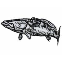 Quality custom stitch digitizing embroidery fish WCR10104 designs services for sale