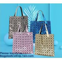 Quality PVC Shopping Handbags Bag Tote Shopper Handles Transparent Clear Large Capacity,Shopstyle Magnetic Snap Close UK Young for sale