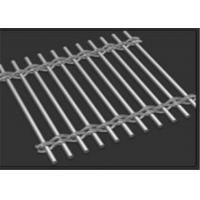 China 3.0mm Rod Wire Building Decorative Metal Mesh for Cladding Wall Curtains on sale