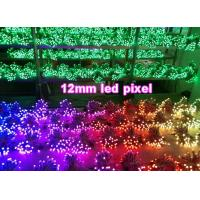 China 5V 12mm colorchangable led dot light 1903/6803/WS2801/WS2802 led signage outdoor decorating signs on sale
