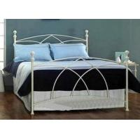 Quality Queen Size Metal Frame Bed Stainless Steel Bed Furniture For Living Room Luxurious for sale