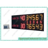5 Sets Display Panel Electronic Tennis Scoreboard With Led Digital Scoreboard