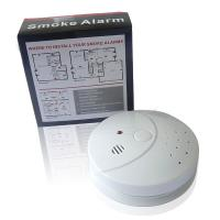 Quality Battery Operated Smoke Detector EN14604 Fire Alarm for sale