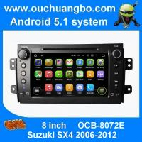 Quality Ouchuangbo car multimedia kit dvd android 5.1 for Suzuki SX4 2006-2012 with video music SWC Bluetooth for sale