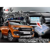 Quality Ford Ranger SYNC 3 Car Navigation Box With Android 5.1 4.4 WIFI BT Map Google apps for sale