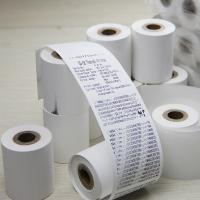 Quality Pos Machine Receipt Paper Roll Environmental Friendly For Supermarket for sale