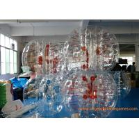 Buy Skill Printing Inflatable bumper balls for adults / Entertainment inflatable body bumpers at wholesale prices