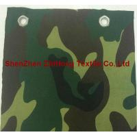 Quality Eco-friendly EMI silver-plated camouflage canvas fabric for military for sale