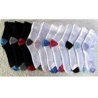 China 75% cotton, 23%polyeaster, 2% elastic 168N Half full men Terry Loop Socks on sale