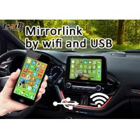 Buy All-in-one Android Auto Interface for Ford Edge Network Mirrorlink by USB or WIFI Steering wheel Control at wholesale prices