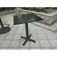 Quality Bistro Table base  Cast Iron Table leg Water proof  Outdoor Furniture Bar Table for sale