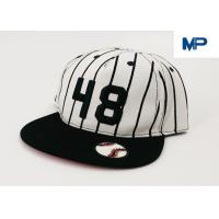 Quality White Letter Embroidery Sports Snapback Personalized Baseball Caps Collapsible Peak Skull for sale