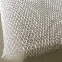 Quality 3D Polyester Mesh Fabric For Bags Curtain , Home Textile Use Breathable Mesh Fabric for sale