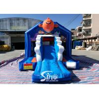 Quality Bouncy Castle With Slide Combo Jumper For Inflatable Games for sale
