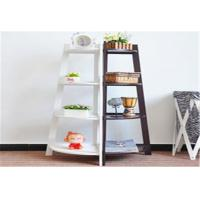 Quality Freestanding Storage Rack Shelf Wooden Corner Display Shelf With 4 Tier for sale