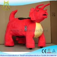 Hansel cheap amusement park rides coin operated plush animal ride on toy