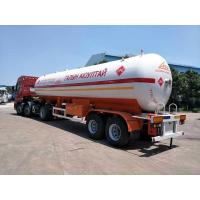 Quality 40000 Liters LPG Tanker Truck 20MT Propane Transport Trailer Propane Delivery for sale