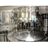 Quality Automatic Bottled Beer Filling Machine , 500BPH - 8000BPH Glass Bottle Filling Machines for sale