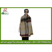 Quality 180*80cm 100%Acrylic woven colorful jacquard scarf direct factory supply keep warm fashion hot sale best price for sale