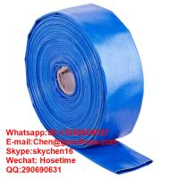 Buy cheap PVC heavy duty lay flat discharge hose,heavy duty water hose,water pump hose product