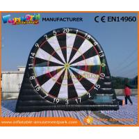 Buy cheap Waterproof Inflatable Sports Games 0.55 MM PVC Tarpaulin Inflatable Target Game product