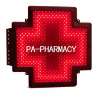 Buy cheap PA-FARMACIA-RA Pharmacy Cross Sign Italy Farmacia Shop Double Sided Waterproof from wholesalers
