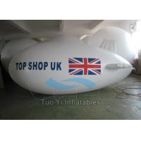 Quality Waterproof PVC Visibility Advertising Zeppelin / Helium Blimp Balloon Durable for sale