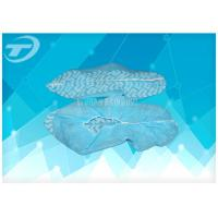 Quality Non woven blue pp disposable surgical shoe cover for Medical use for sale