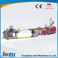 China Jwell Steel Reinforced Spiral Pipe Used Plastic Extruders for Sale on sale