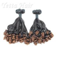 Quality Professional 100% Peruvian Aunty Funmi Human Hair / Double Drawn Remy Hair Extensions for sale