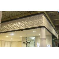 Quality PVC 3D Background Wall Exterior / Interior Wall Paneling Tiles for sale