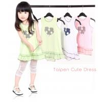 Quality OEM 0 - 24M  polyester combo Cap sleeve Cotton knitted baby pageant dresses for baby girl for sale