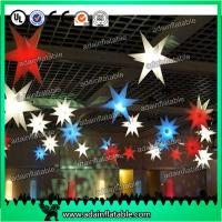 Quality Beautiful 210T Polyester Cloth LED Lighting Inflatable Star a for sale