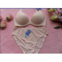 Buy cheap OEM Cotton / Polyester Fashionable Sexy Comfortable Women Matching Bra And Underwear Sets product